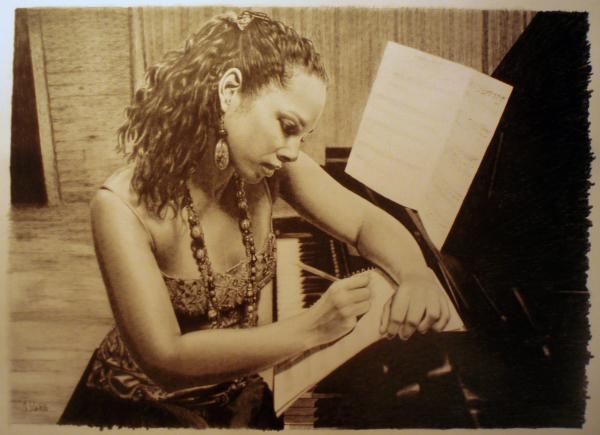 Alicia Keys por hedwige